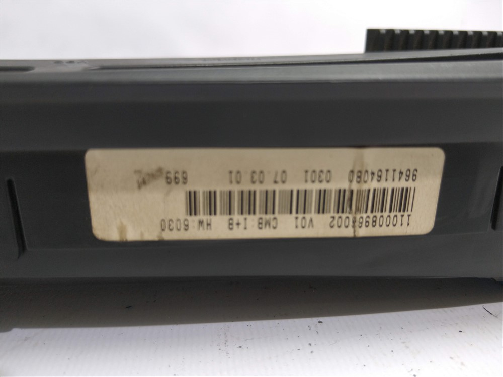 Painel instrumentos digital Xsara Picasso 2001-2008 2 plugs