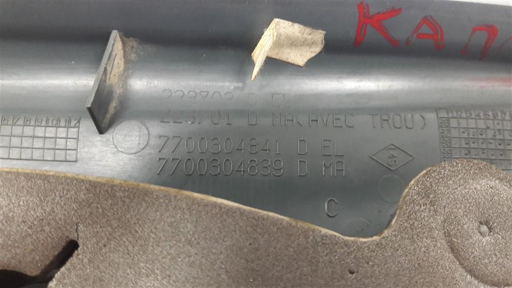 Par moldura acabamento interno retrovisor Kangoo 1997-2017 manual original