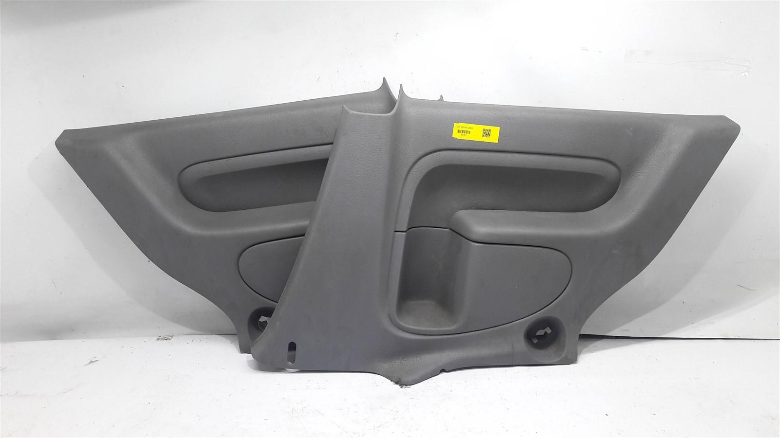 Par forro lateral traseiro 2 portas clio 2002-2012