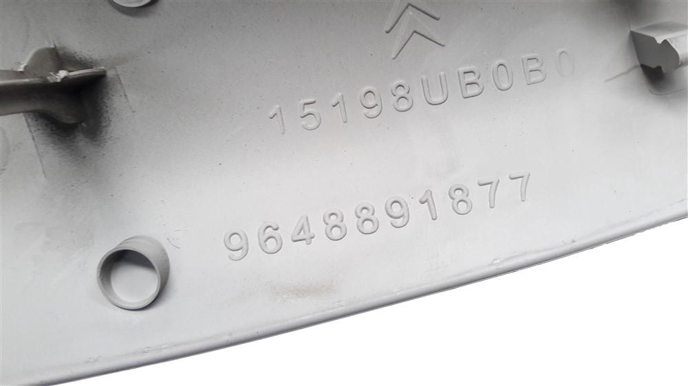 Par moldura acabamento coluna parabrisa Citroen C3 2003 2004 2005 2006 2007 2008 2009 2010 2011 2012 original