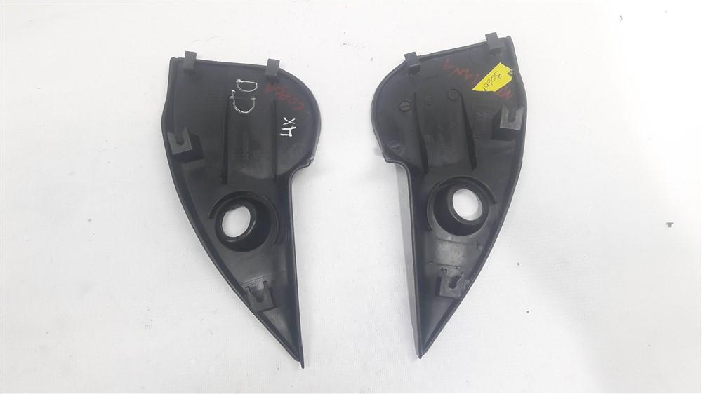 Par moldura acabamento interno retrovisor Corsa Classic Pickup 1994-2017 manual original