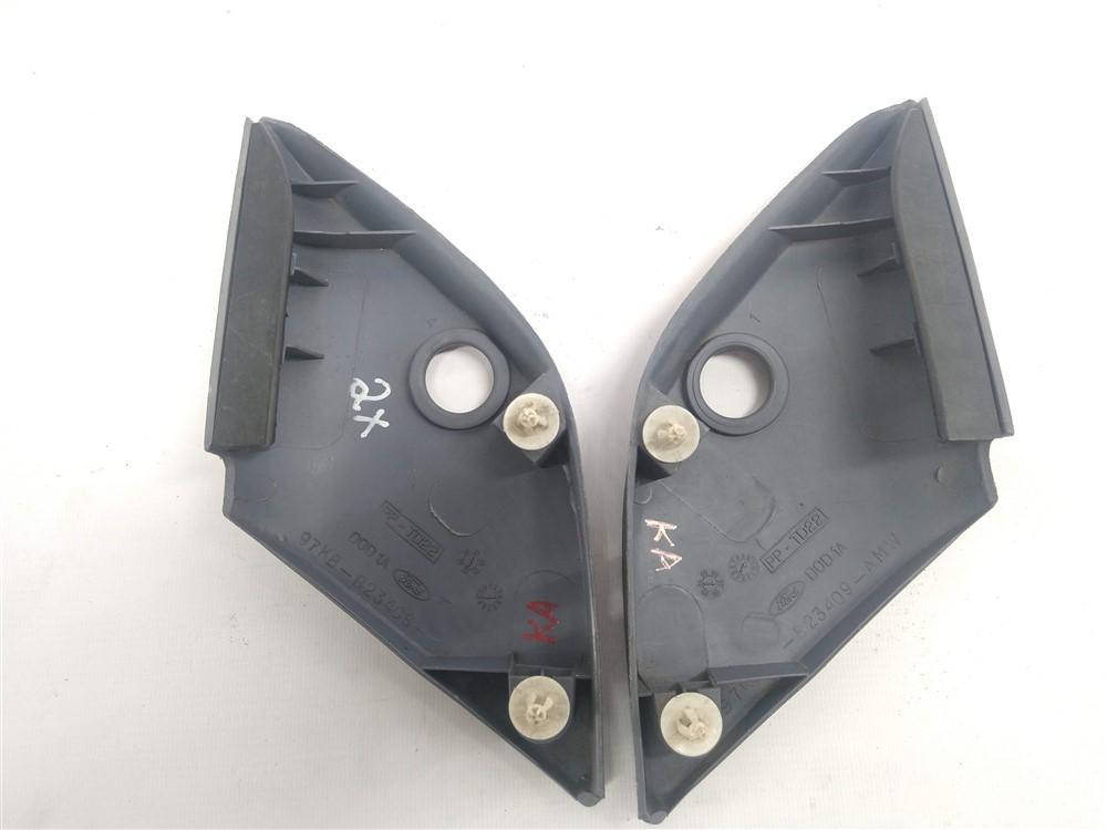 Par moldura acabamento interno retrovisor Ford Ka 1997-2007 original