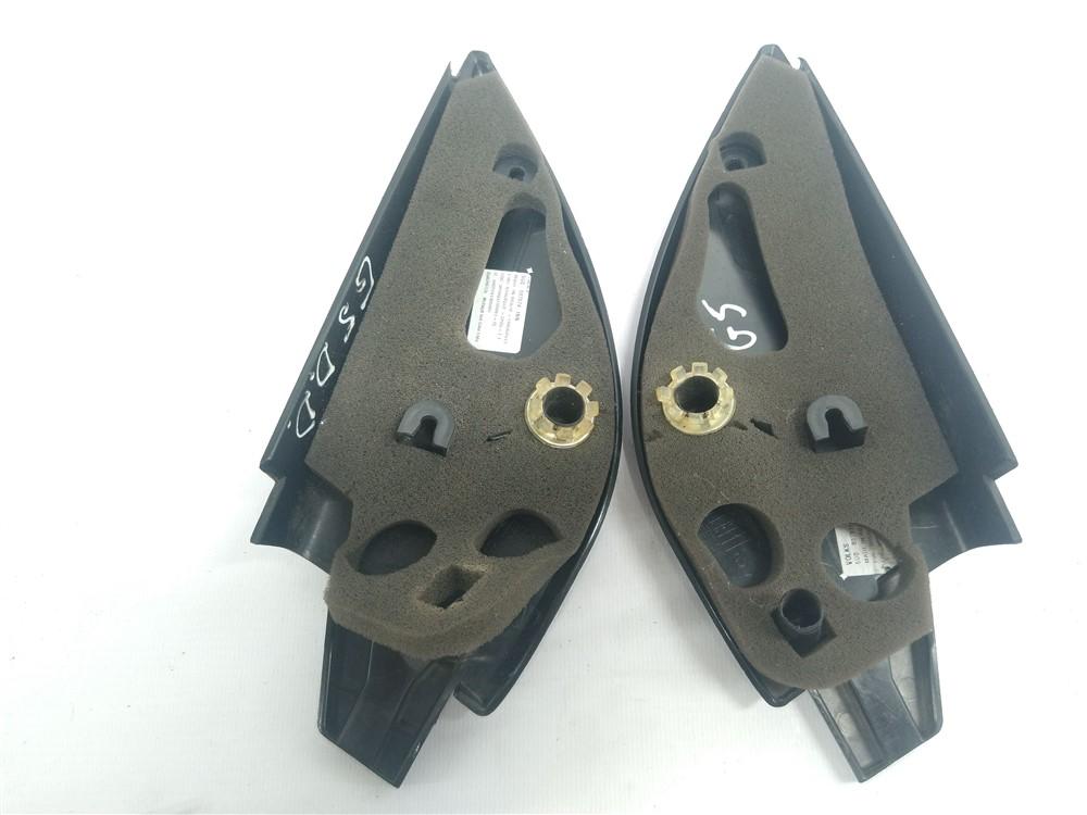 Par moldura acabamento interno retrovisor Gol Voyage G5 G6 Elétrico original
