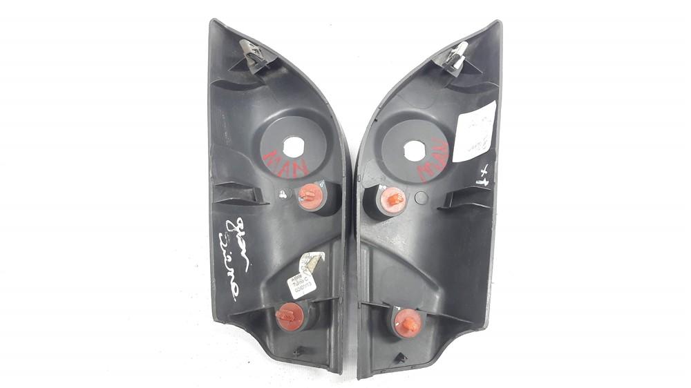 Par moldura acabamento interno retrovisor Palio 2012-2015 manual original