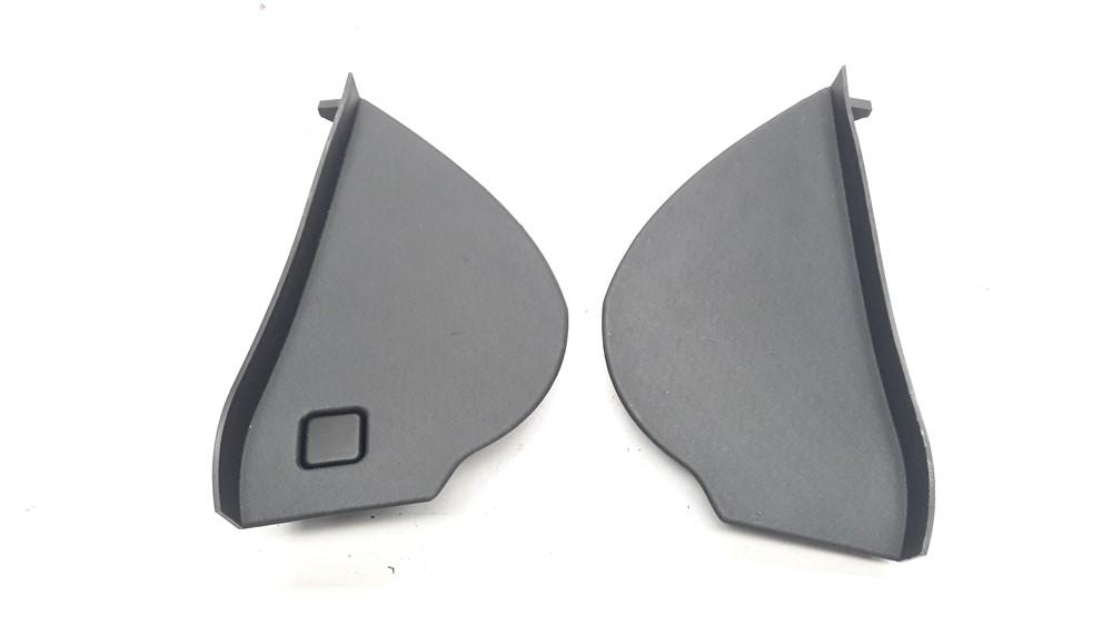 Par moldura acabamento tampa lateral painel Citroen C3 2003 2004 2005 2006 2007 2008 2009 2010 2011 2012 original