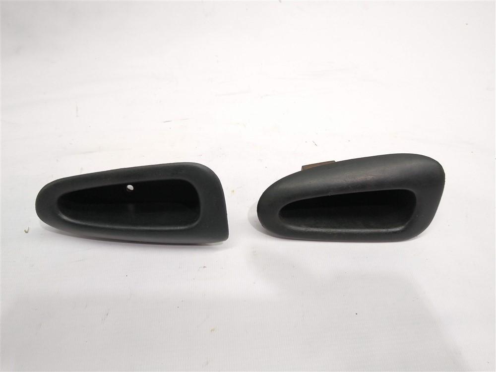Par moldura copo puxador porta Peugeot 206 207