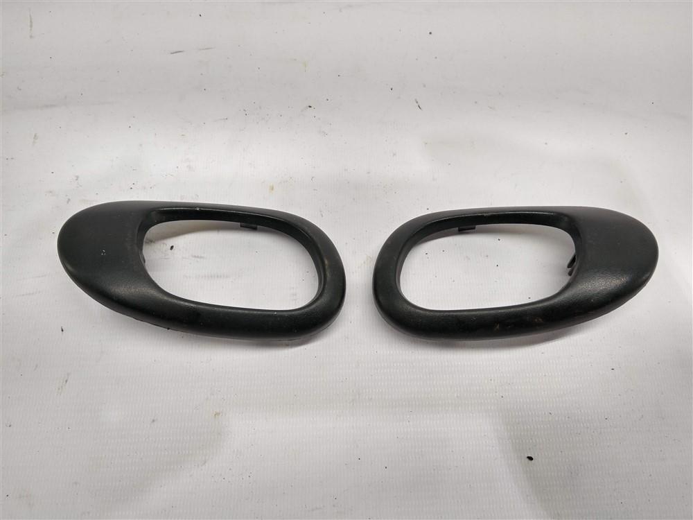 Par moldura maçaneta puxador interno porta Peugeot 206 207