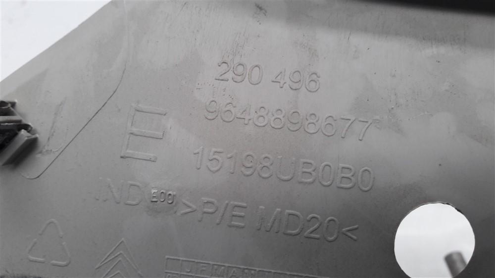 Par suporte tampão porta mala bagagito Citroen C3 2003 2004 2005 2006 2007 2008 2009 2010 2011 2012 original