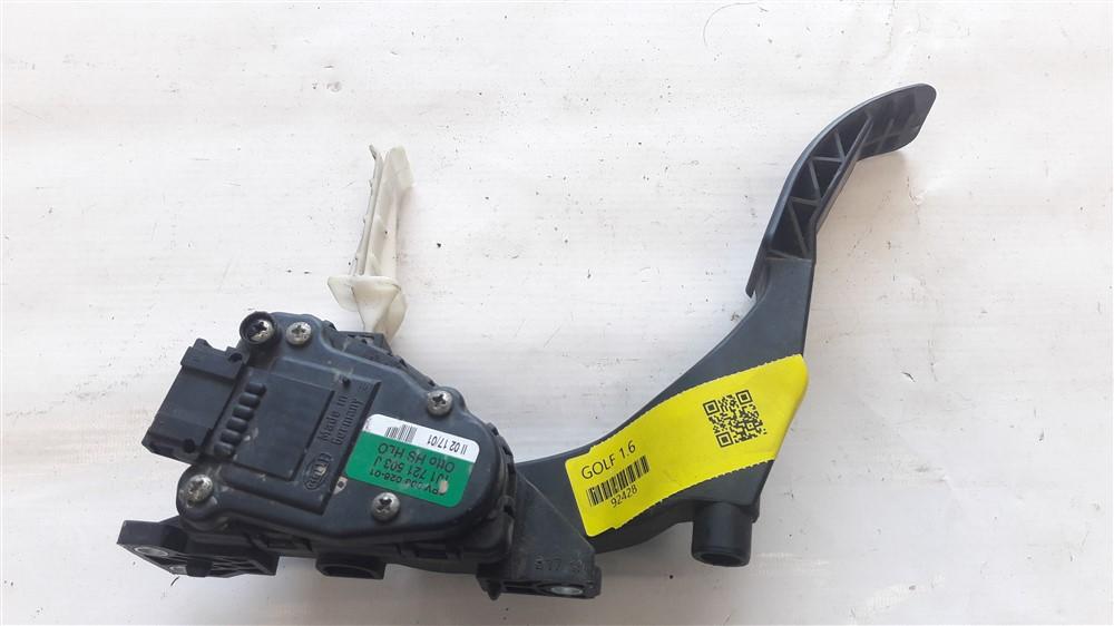 Pedal acelerador eletrônico Golf Gol Fox 1999 2000 2001 2002 2003 2004 2005 2006 original