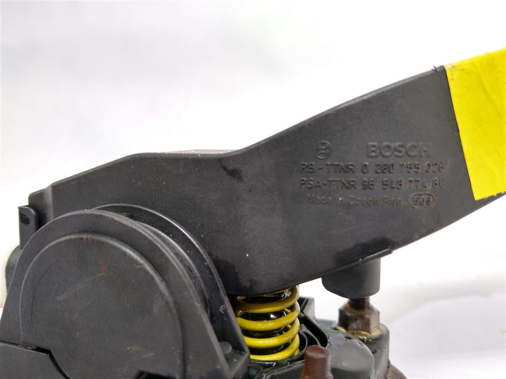 Pedal acelerador eletrônico Peugeot 206 207 Citroen C3