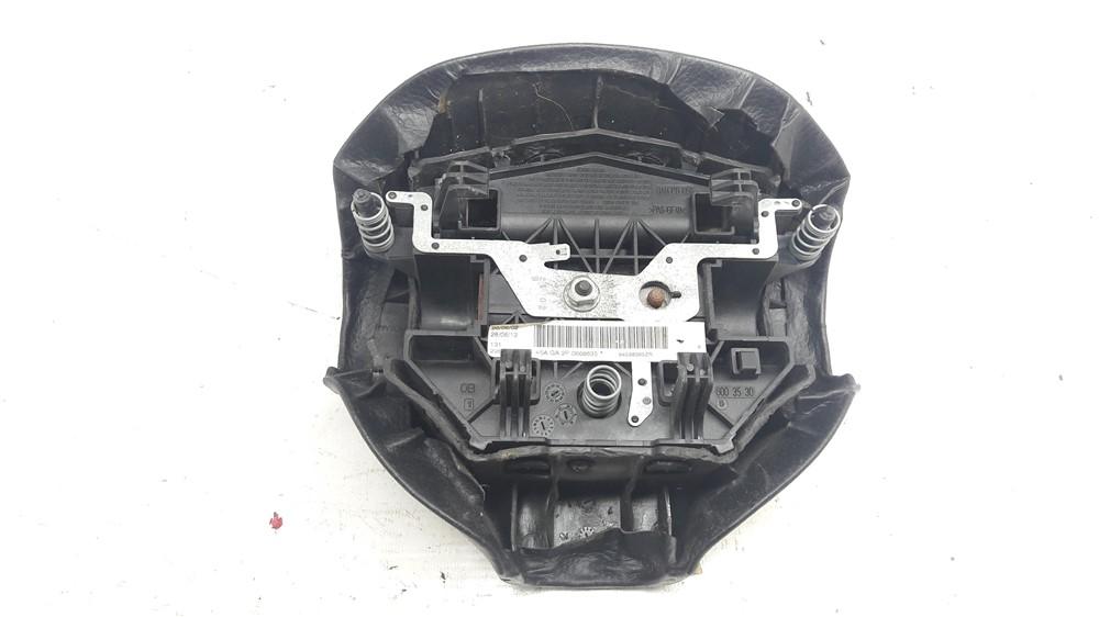Tampa buzina miolo volante Peugeot 206 207 recuperada original