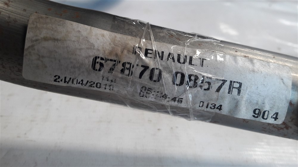 Travessa suporte painel Renault Kwid 2017 2018 2019 2020 original
