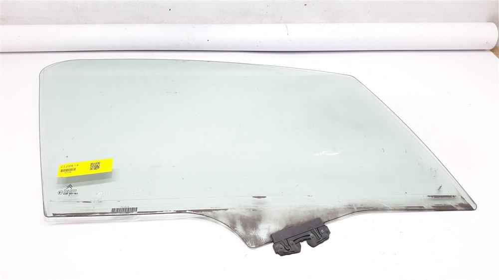 Vidro porta Citroen C3 2003 2004 2005 2006 2007 2008 2009 2010 2011 2012 dianteiro direito original