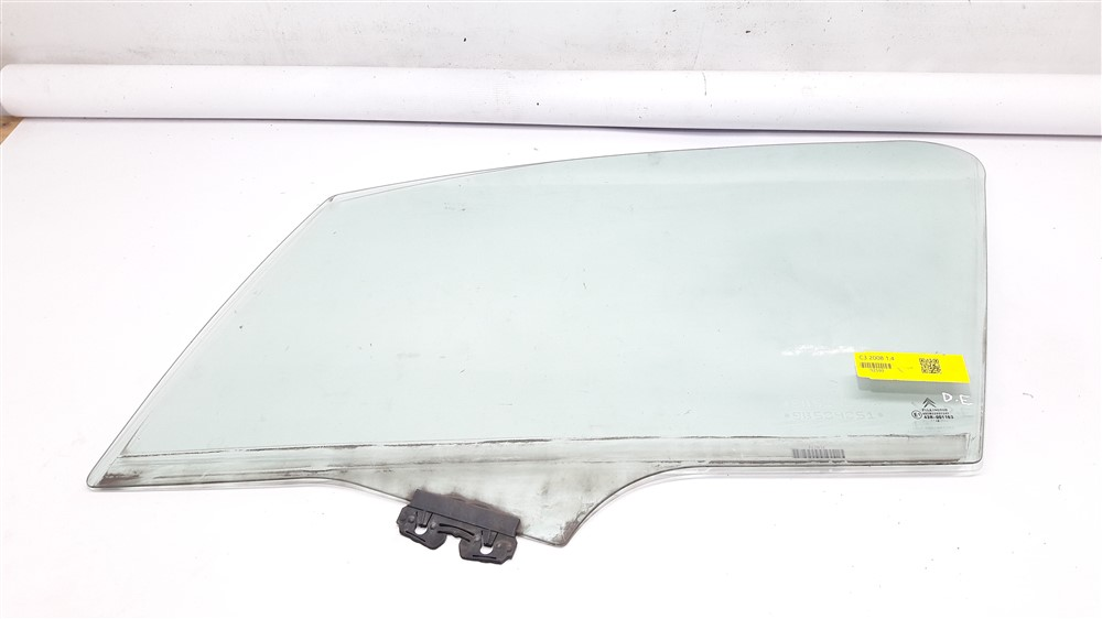 Vidro porta Citroen C3 2003 2004 2005 2006 2007 2008 2009 2010 2011 2012 dianteiro esquerdo original