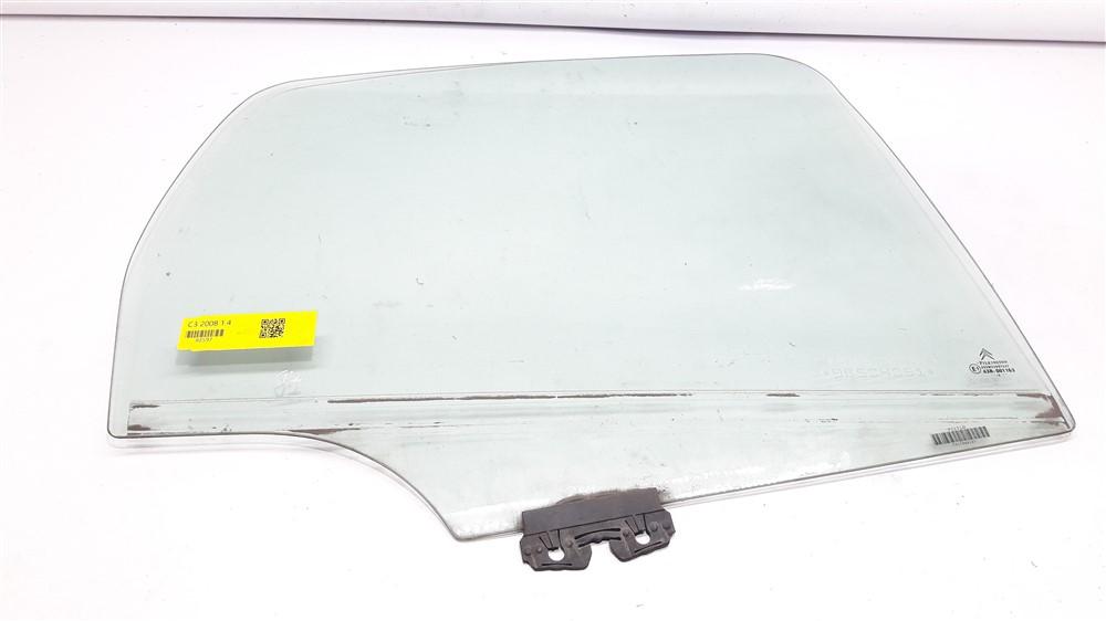 Vidro porta Citroen C3 2003 2004 2005 2006 2007 2008 2009 2010 2011 2012 traseiro direito original