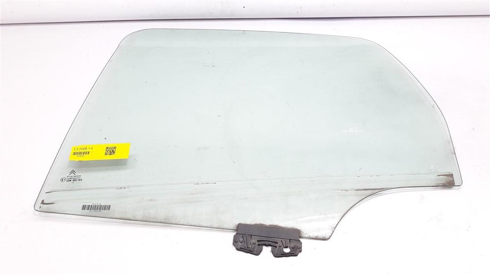 Vidro porta Citroen C3 2003 2004 2005 2006 2007 2008 2009 2010 2011 2012 traseiro esquerdo original