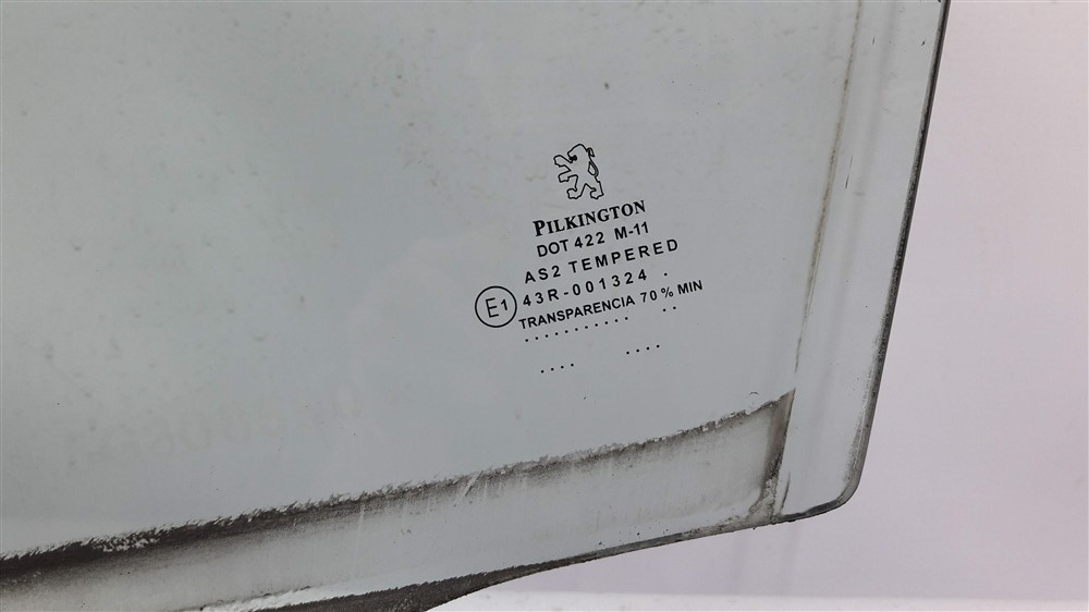 Vidro porta dianteiro esquerdo Peugeot 307 original