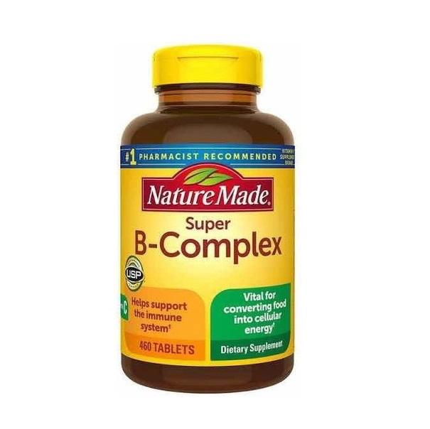Nature Made B complex Vitamina Imunidade 460 tablets