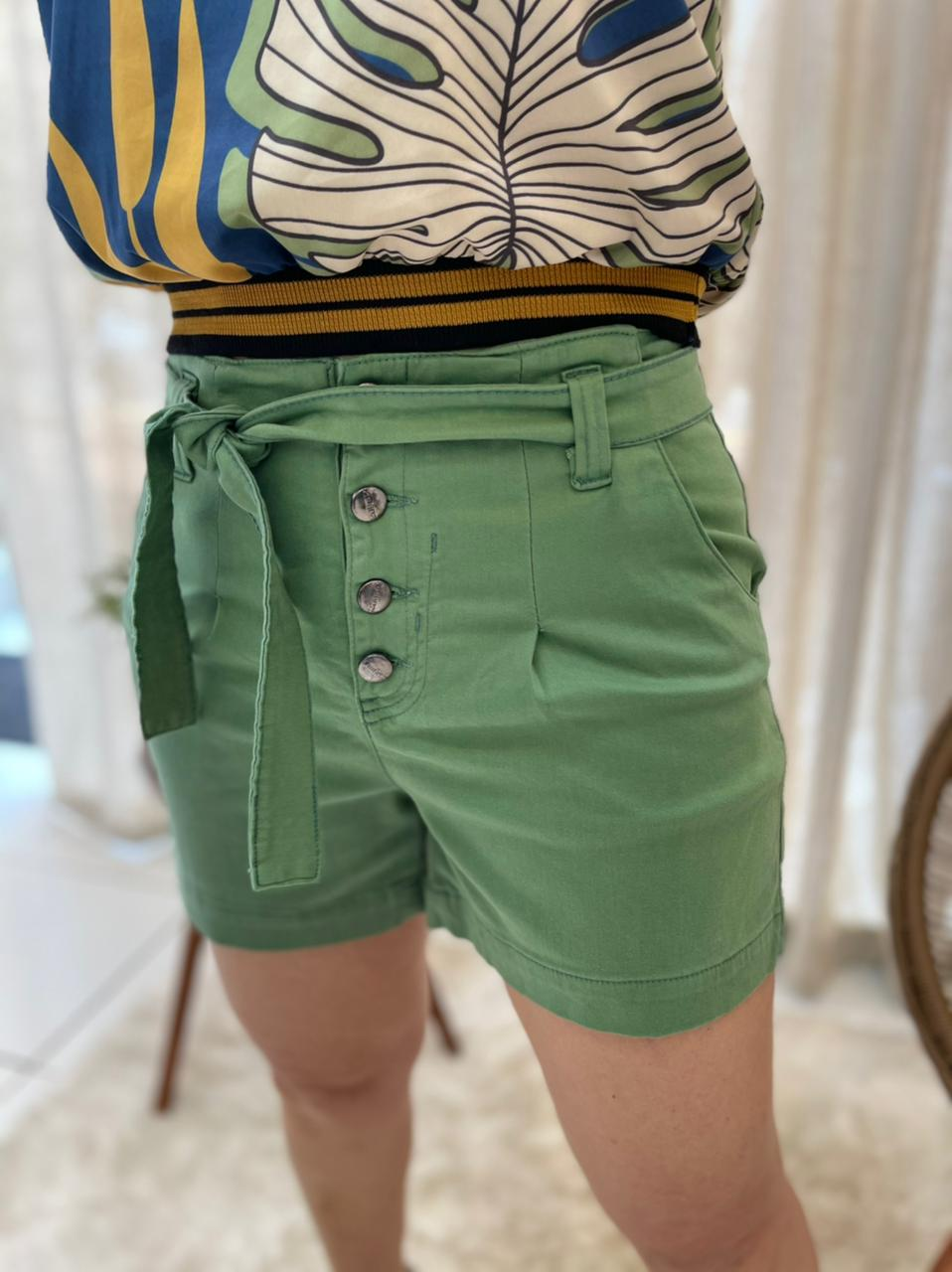 SHORTS COLOR JEANS