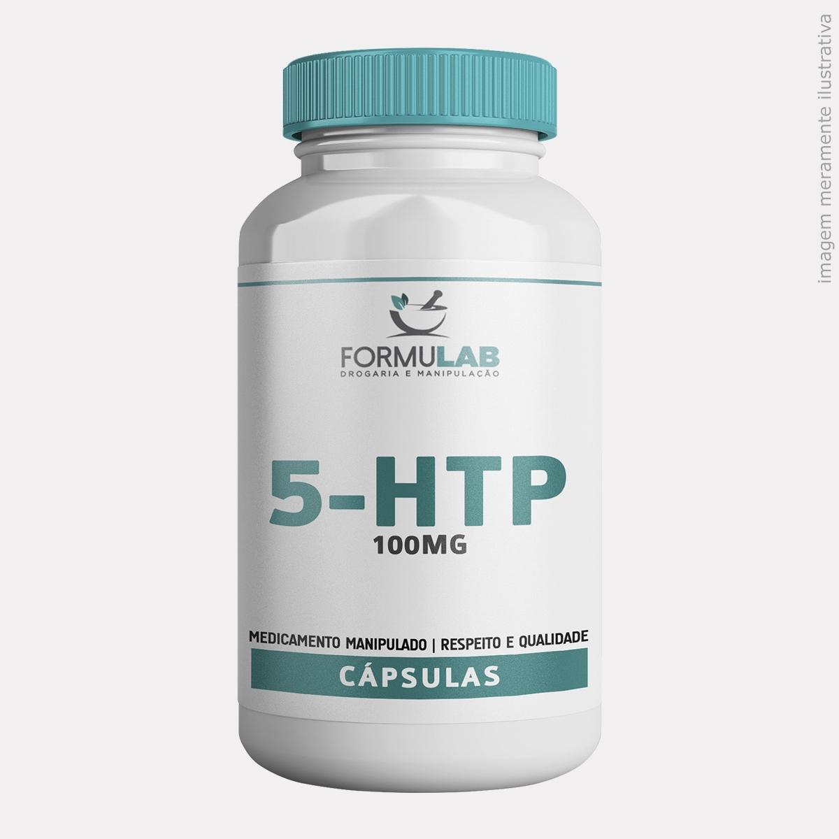 5-HTP - L-5-HIDROXITRIPTOFANO - 100mg
