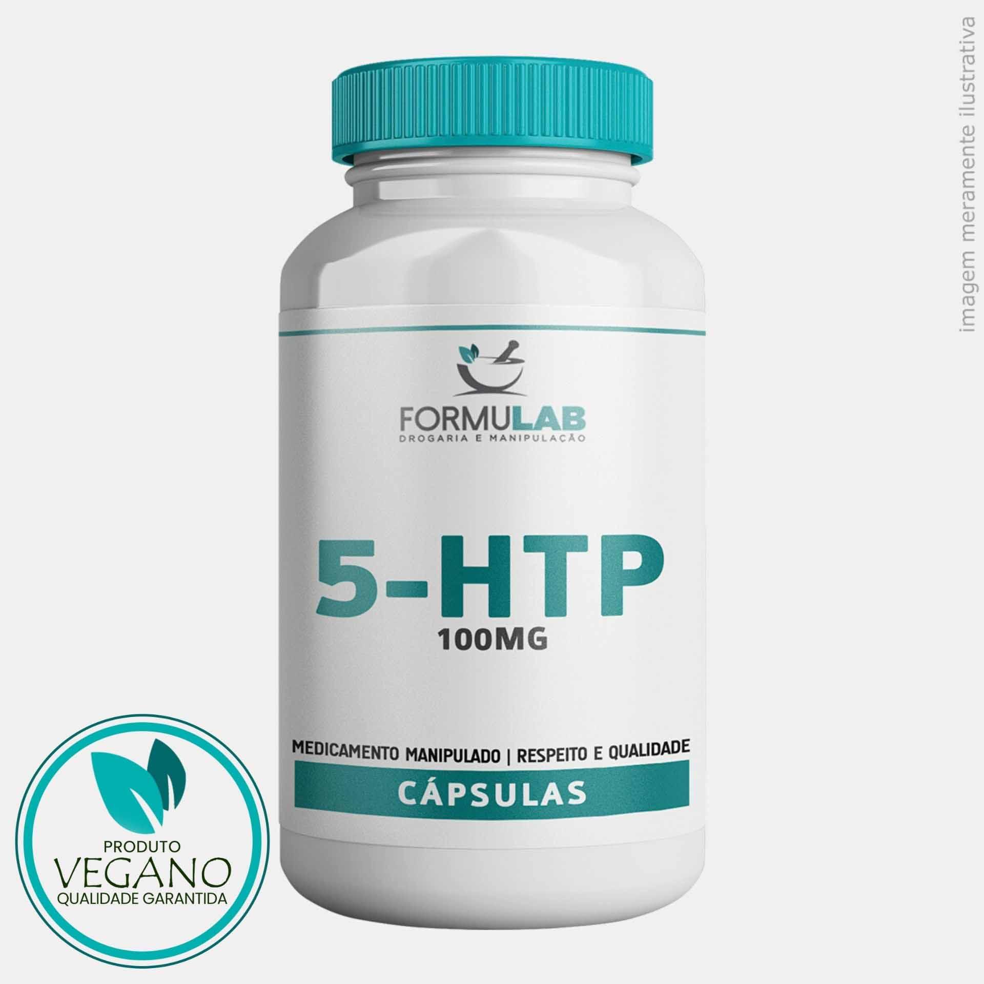 5-HTP - L-5-Hidroxitriptofano - 100mg - VEGANO