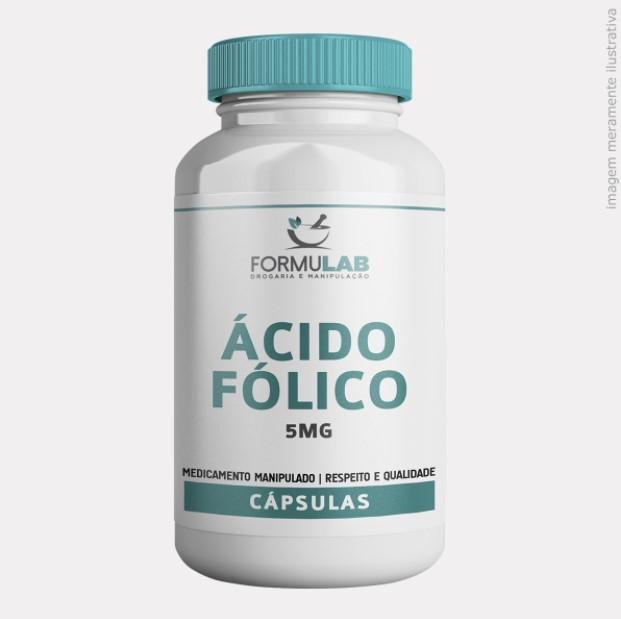 Ácido Fólico 5mg - Vitamina B9