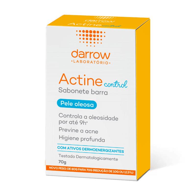 Actine sabonete em barras control (Pele oleosa) Darrow 70g