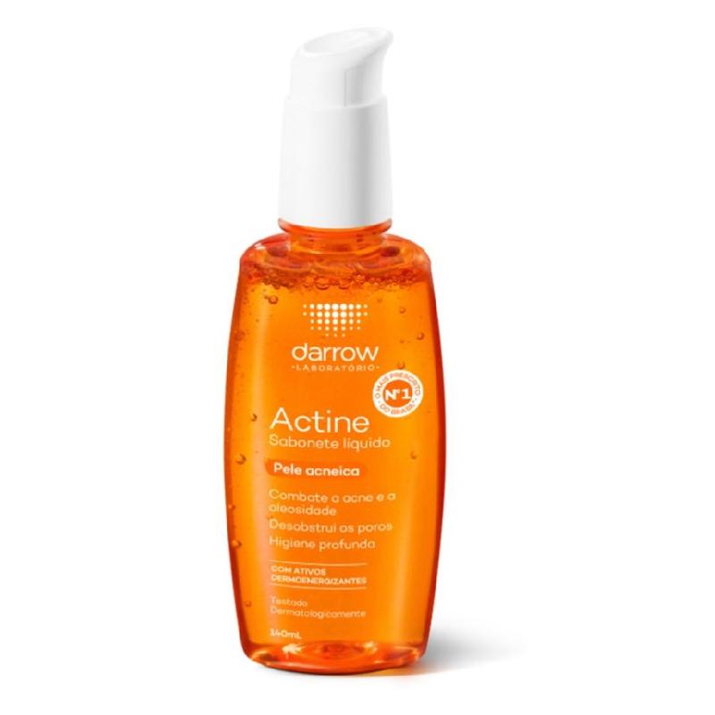 Actine sabonete liquido 140ml (Pele oleosa e acneica)