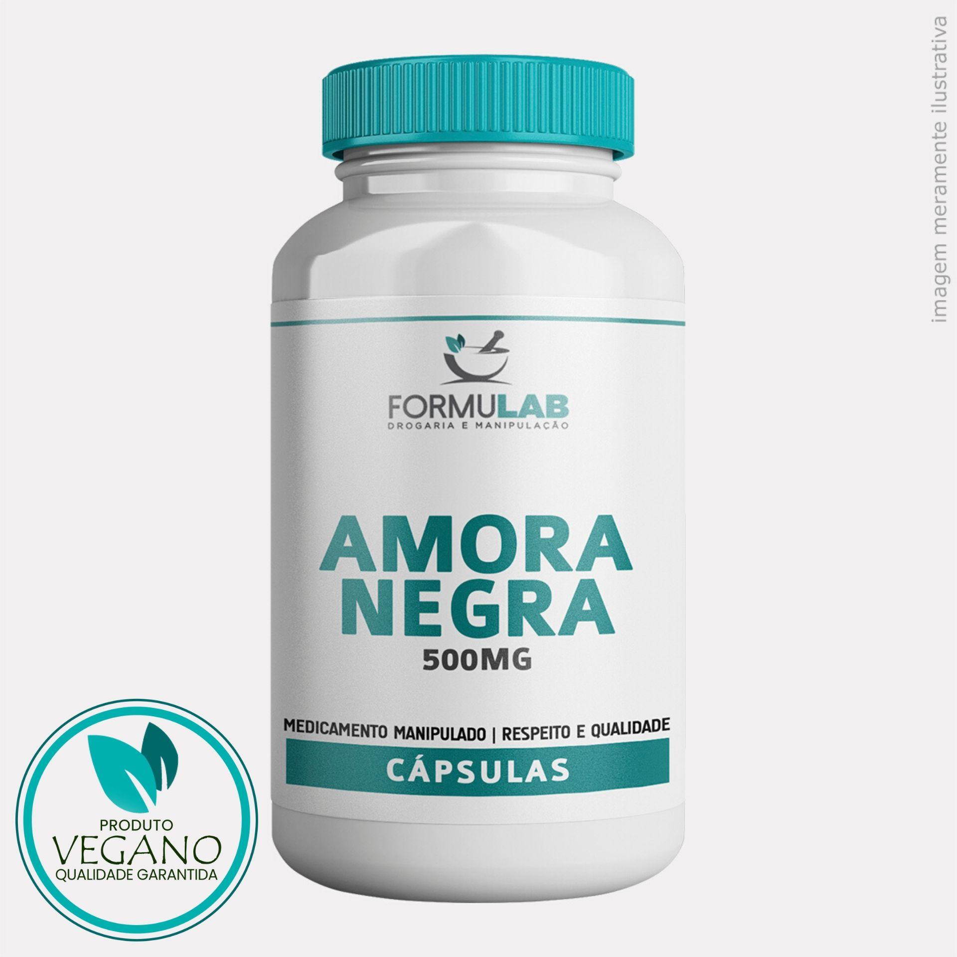 Amora Negra 500mg - VEGANA