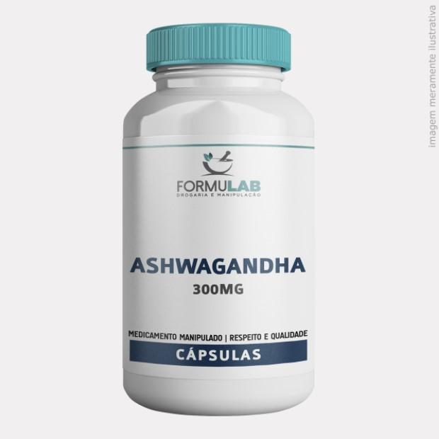Ashwagandha (Ginseng Indiano) 300mg - 100% PURO