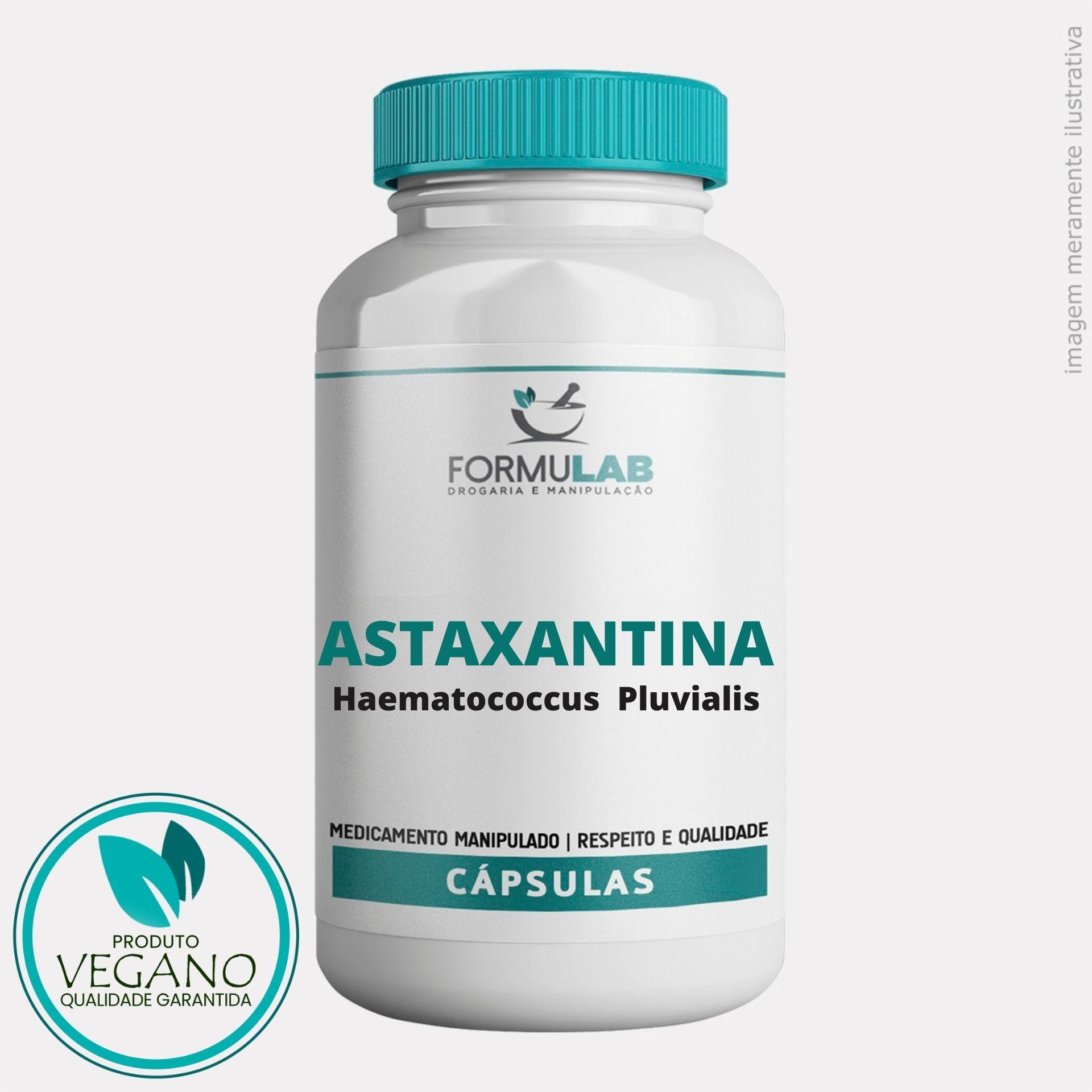 Astaxantina 50mg - Haematococcus Pluvialis VEGAN