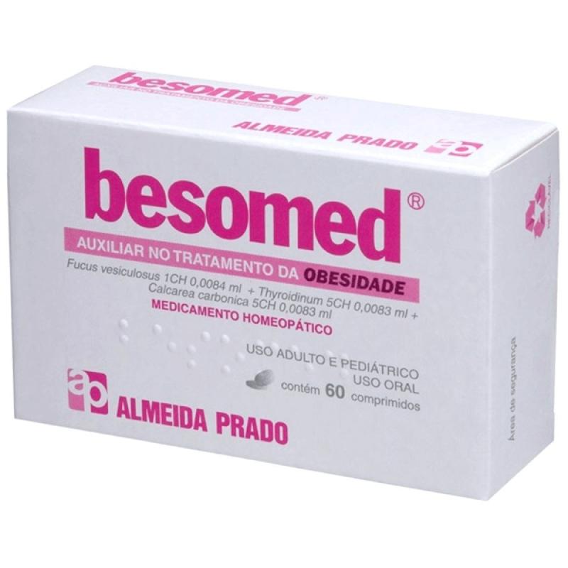 Besomed- Tratamento de OBESIDADE (60 Comprimidos)