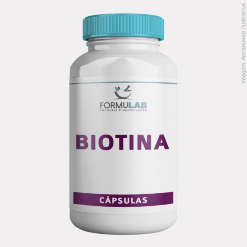 Biotina 10MG - Vitamina B7