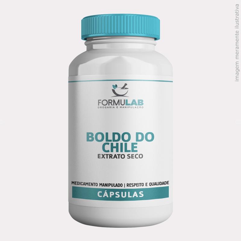 Boldo do Chile 500mg - Extrato Seco