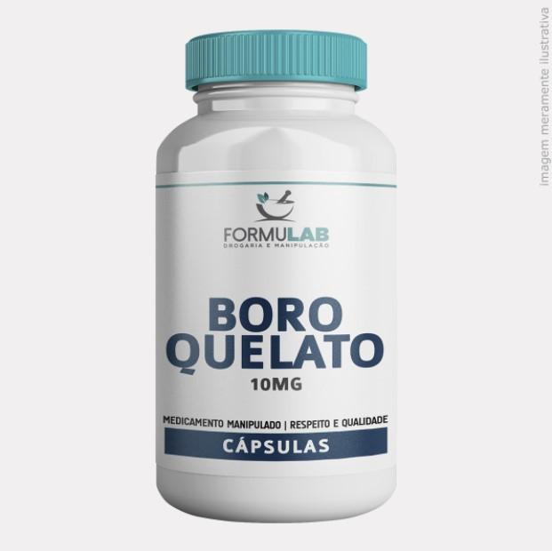 Boro Quelato 10mg - Boro Mineral