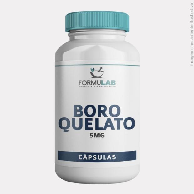 Boro Quelato 5mg - Boro Mineral