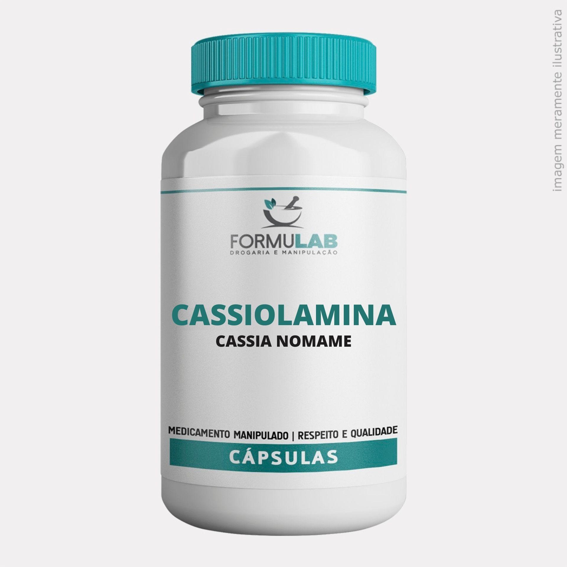 Cassiolamina 500mg - Cassia Nomame