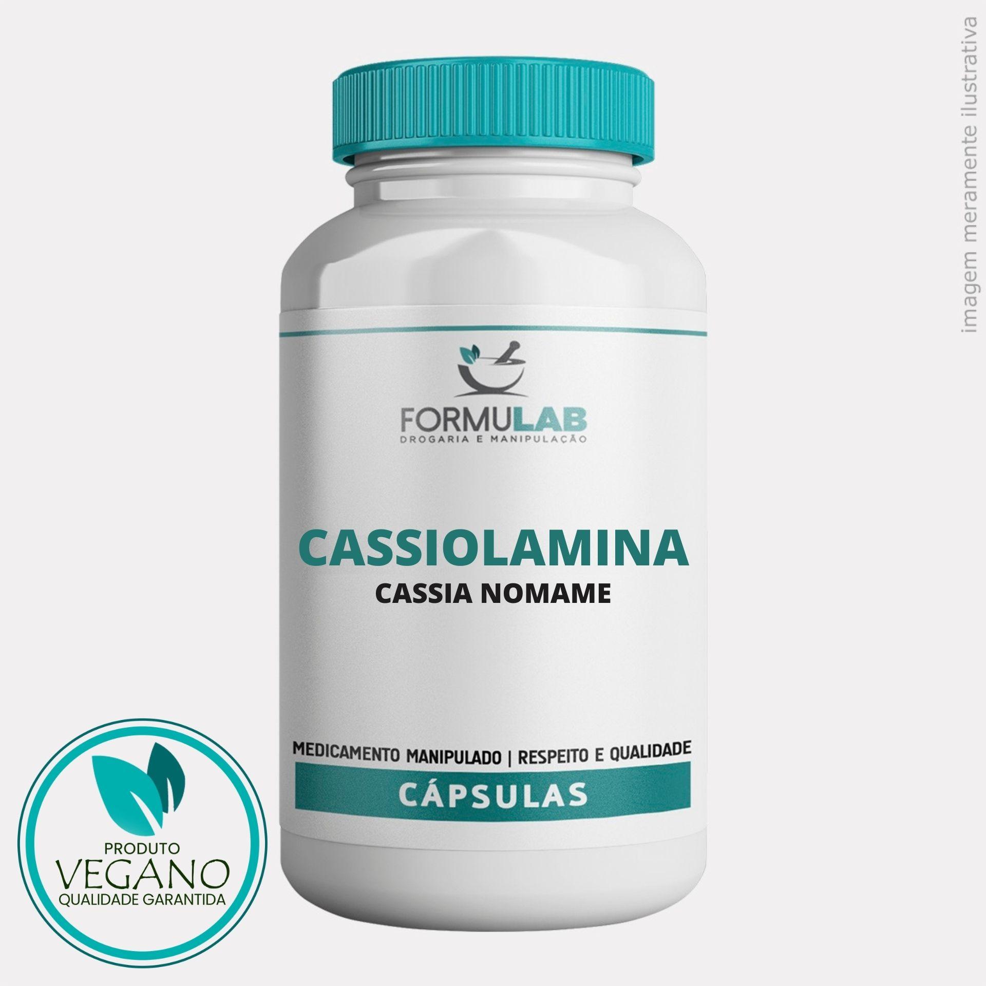 Cassiolamina 500mg - Cassia Nomame VEGAN