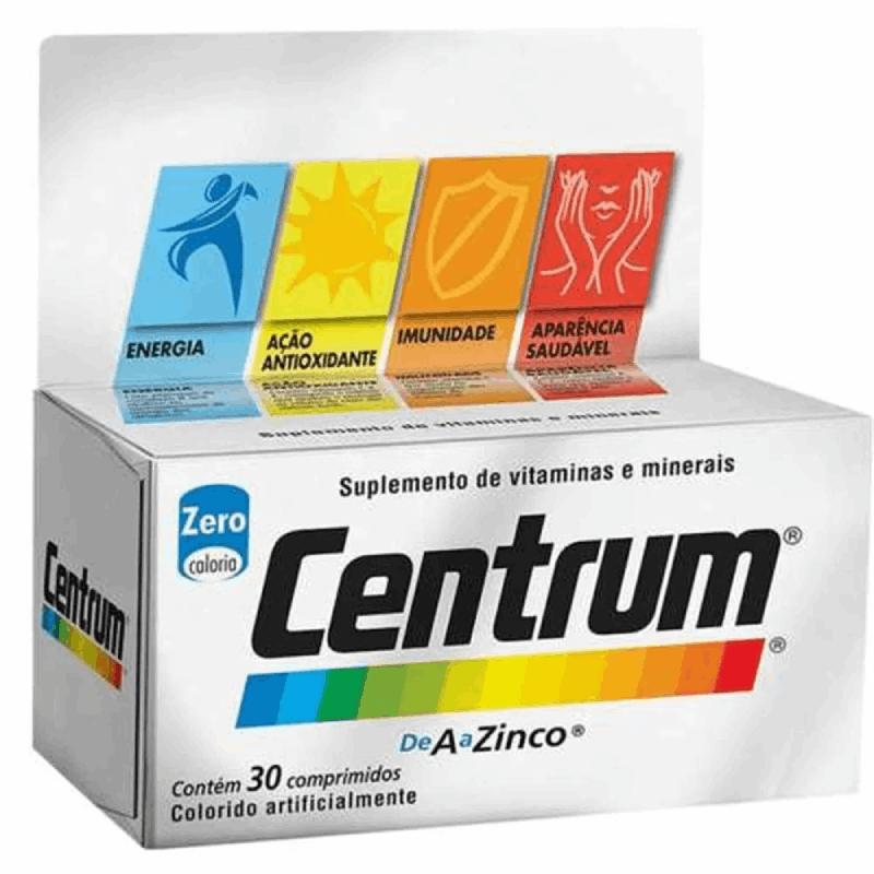 Centrum de A a Zinco (30 Comprimidos)