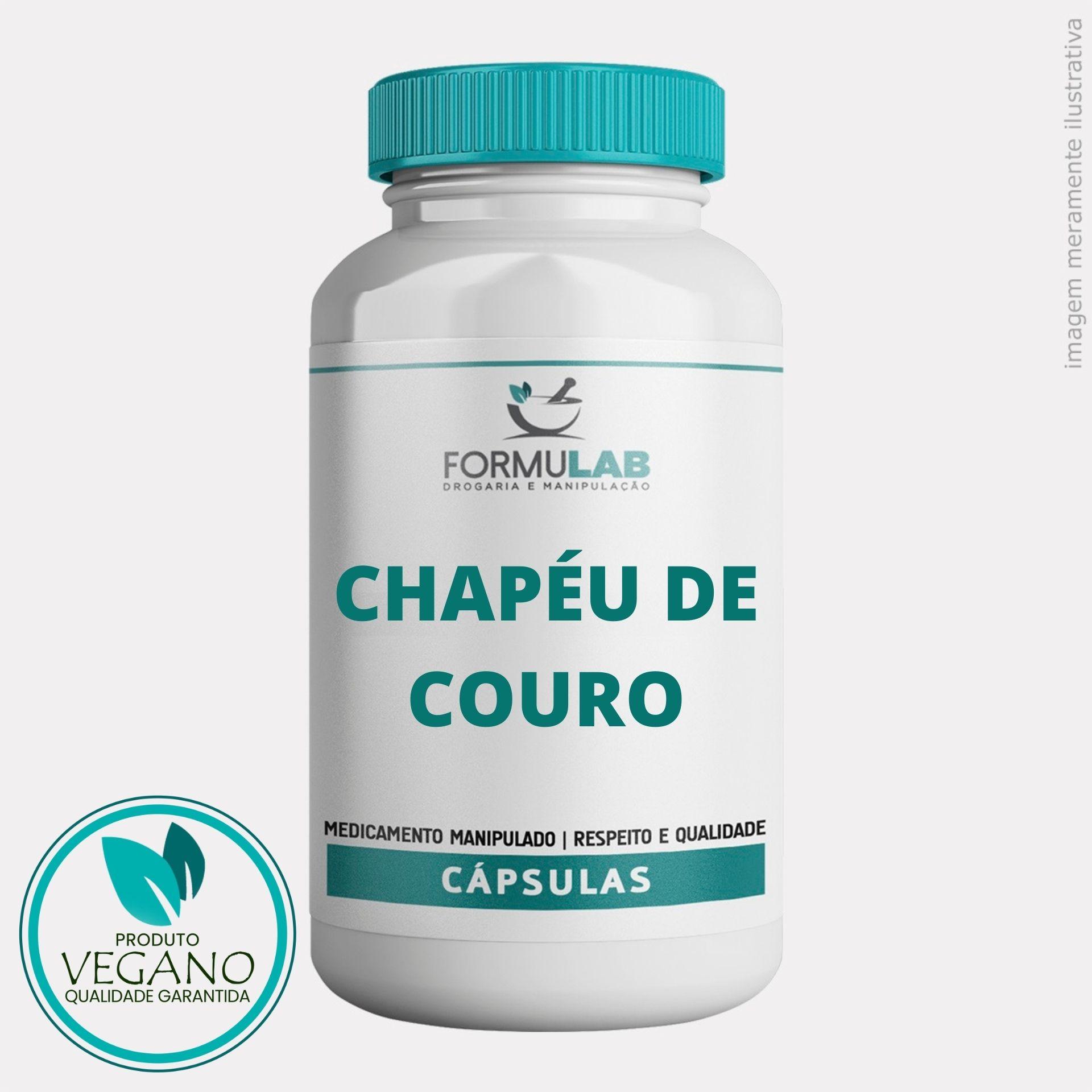 Chapéu De Couro 500mg - VEGAN