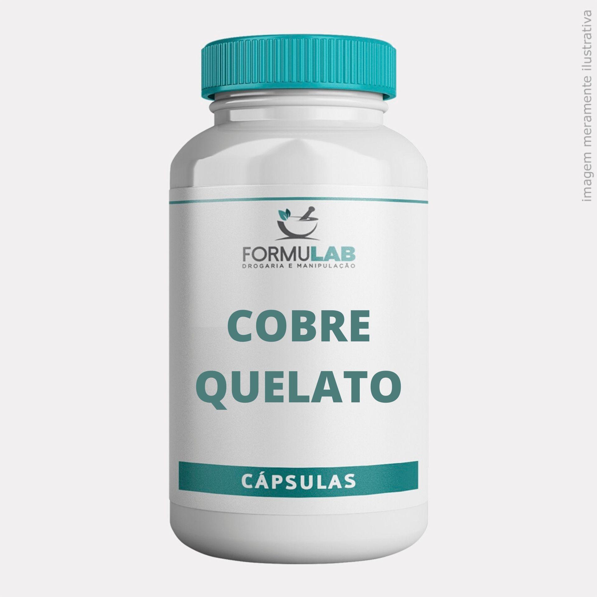 Cobre Quelato 2mg - Cobre Mineral