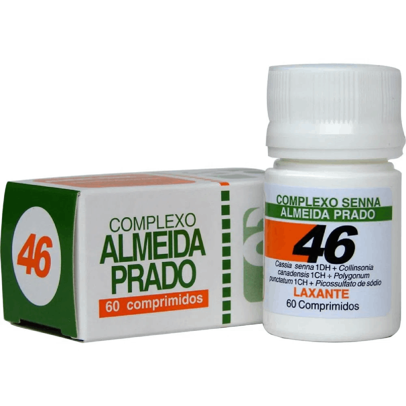 Complexo Homeopático Almeida prado 46- Efeito laxante (60 comprimidos)
