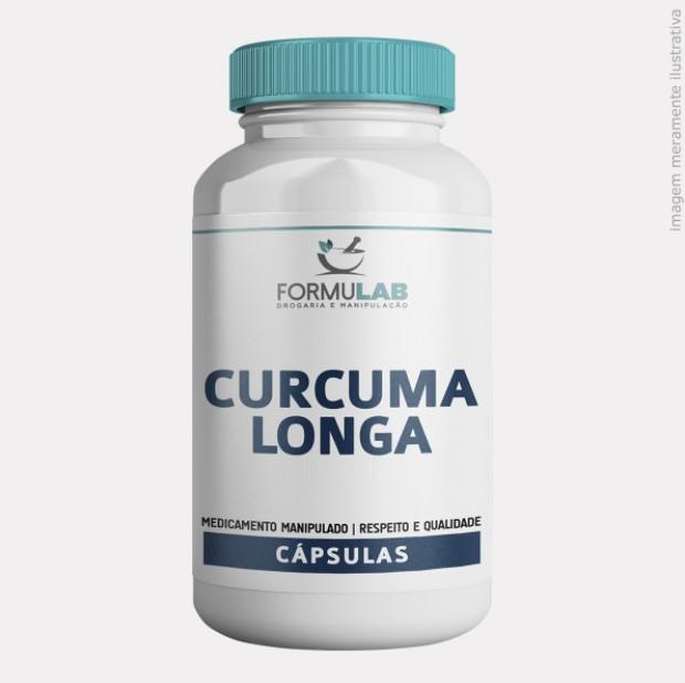 Curcuma Longa 500mg - Açafrão
