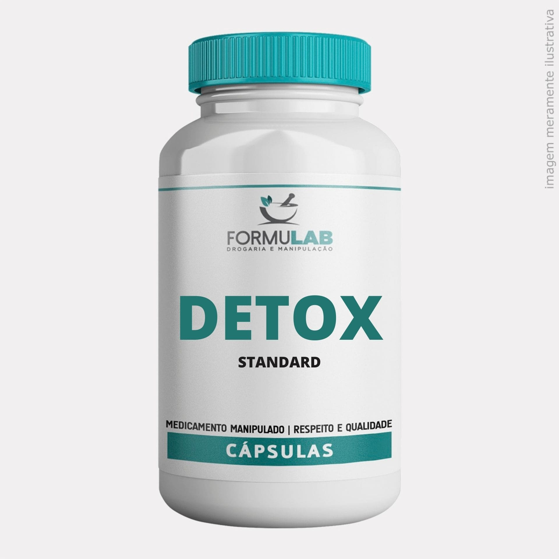 DETOX: Spirulina 200mg + Cavalinha 200mg + Green Tea 200mg + Picolinato de Cromo 200mcg