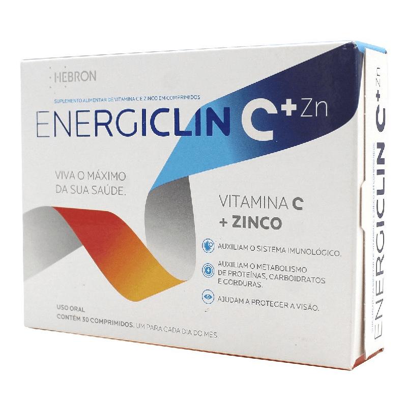 Energiclin C (Vitamina C + Zinco) 30 comprimidos