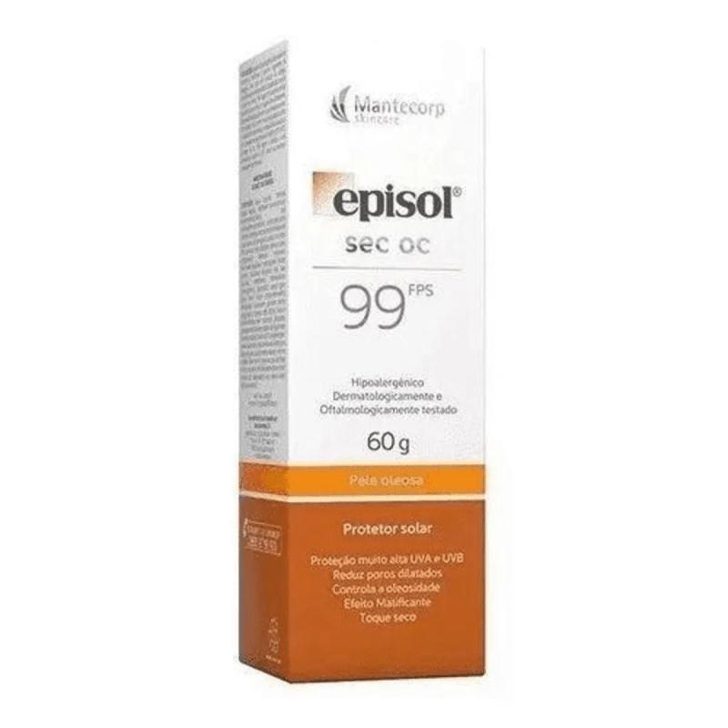 Episol  Protetor Solar 99fps (Pele Oleosa) 60g