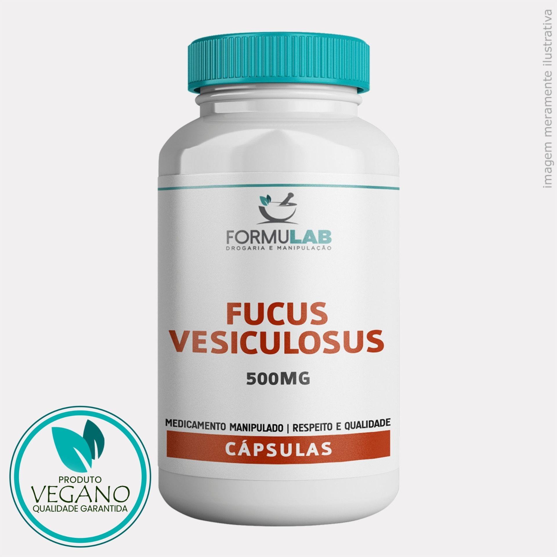 Fucus Vesiculosus - 500mg - VEGANO