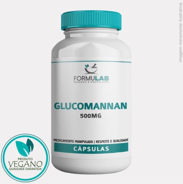 Glucomannan 500mg - VEGANO - Fibra Vegetal