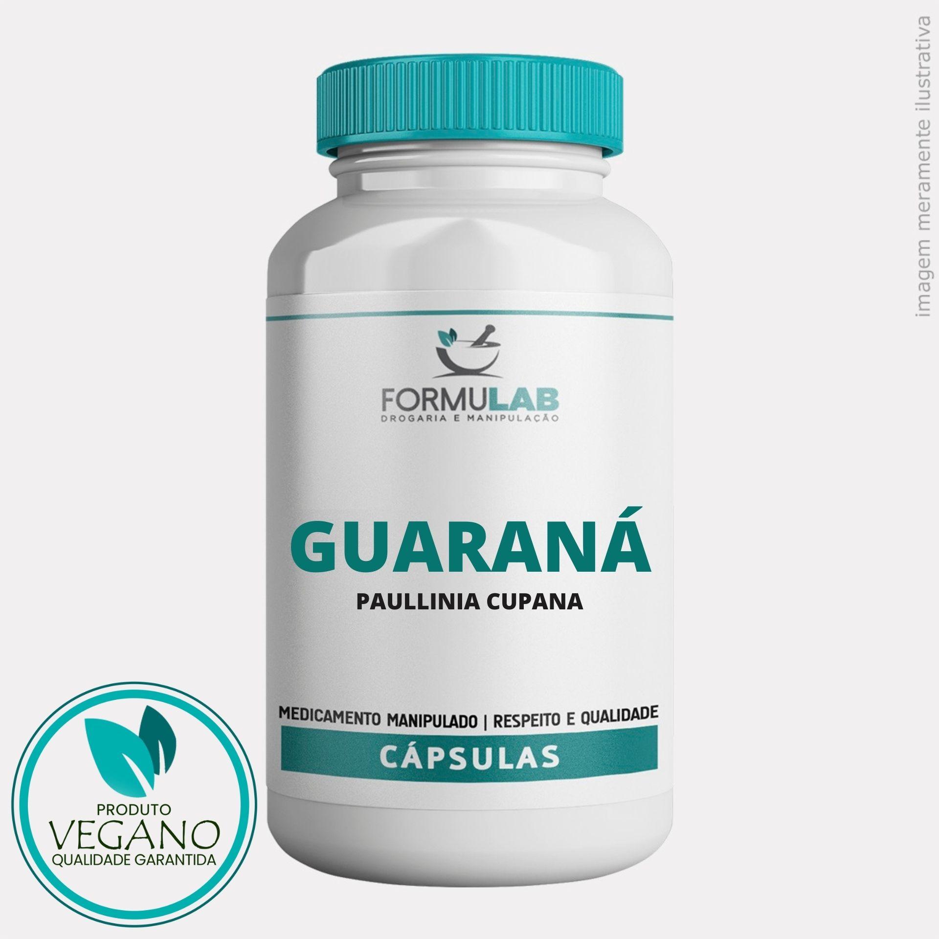 Guaraná 250mg - Vegan