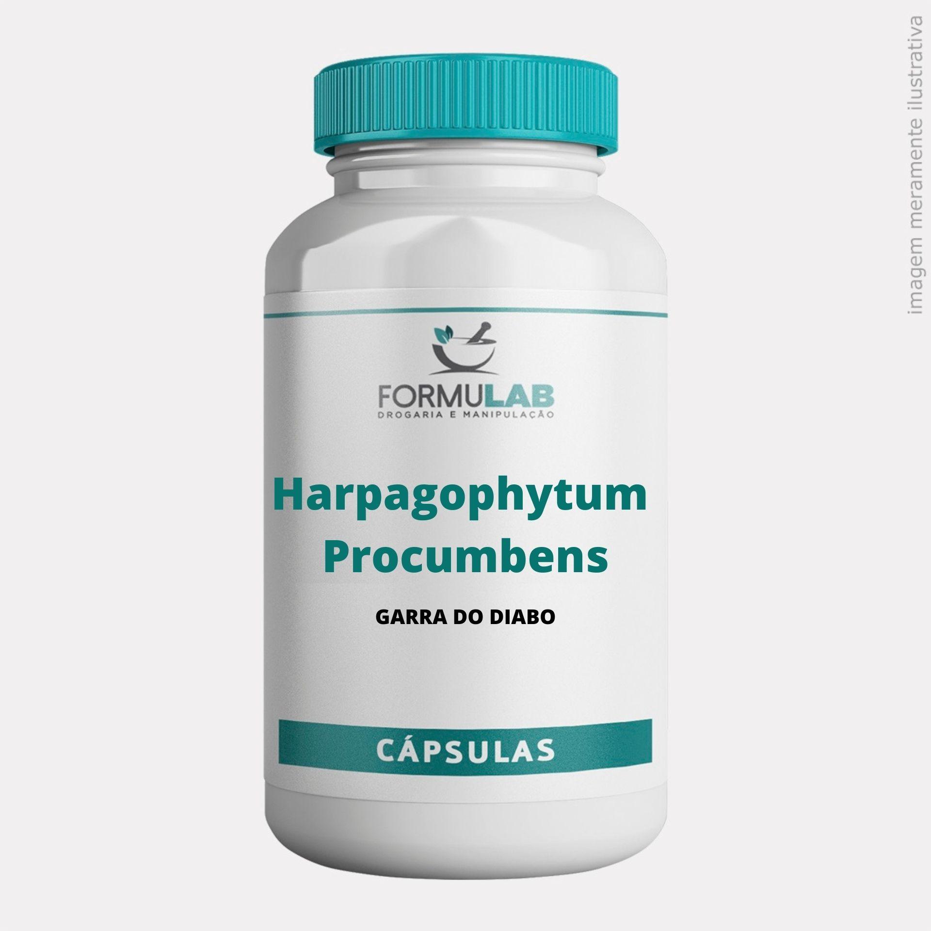Harpagophytum Procumbens 300mg - Garra do Diabo